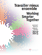 2012 - 2013 Rapport annuel