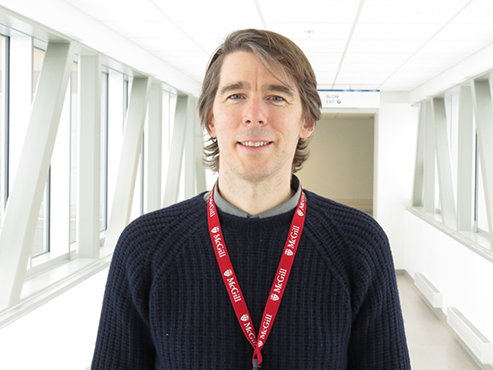 Dr. Benjamin Smith, scientist at the Research Institute of the McGill University Health Centre (RI-MUHC)